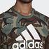 Adidas T-Shirt CAMO AOP Braun (3)