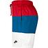 Nike Freizeit- und Badeshorts 3S Rot/Blau/Weiß (3)