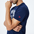 New Era New England Patriots T-Shirt Graphic Helmet blau (3)