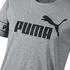 Puma T-Shirt Big Logo Amplified Grau (3)