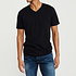 Cotton Butcher 6er Set T-Shirt Texas V-Neck Schwarz (3)