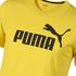 Puma T-Shirt ESS No.1 Gelb (3)