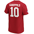 Fanatics San Francisco 49ers T-Shirt Iconic N&N Garoppolo No 10 rot (3)