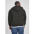 URBAN CLASSICS Winterjacke Hooded Cotton schwarz (3)