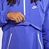 Nike Schlupfjacke Windstopper mit Zip Violett (3)