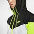 Nike Kapuzenjacke Windrunner Weiß/Schwarz/Neon (3)