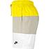 Nike Freizeit- und Badeshorts 3S Gelb/Grau/Weiß (3)