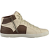 GEOX Sneaker High Nappaleder white/coffee (3)