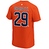 Fanatics Edmonton Oilers T-Shirt Iconic N&N Draisaitl No 29 orange (3)