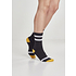 URBAN CLASSICS Socken Multicolor schwarz/gelb/weiß (3)