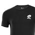 Lotto T-Shirt Basic schwarz (3)