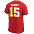Fanatics Kansas City Chiefs T-Shirt Iconic N&N Mahomes 15 rot (3)