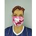 5er Set Mund-Nase Maske Camo Rosa (3)