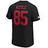 Fanatics San Francisco 49ers T-Shirt Iconic N&N Kittle No 85 schwarz (3)