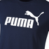 Puma T-Shirt Big Logo Amplified Marine (3)