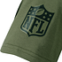 New Era New England Patriots T-Shirt Wordmark Camo oliv (3)