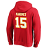 Fanatics Kansas City Chiefs Hoodie Iconic N&N Mahomes No 15 rot (3)