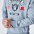 New Era Las Vegas Raiders Hoodie Graphic grau (3)