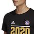 Adidas FC Bayern München T-Shirt CL Sieger 2020 Schwarz (3)